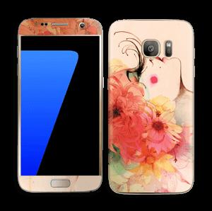 Blomsterpige Skin Galaxy S7