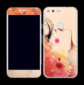 Femme & fleurs 2 Skin Pixel