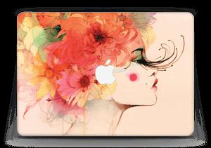 Girl in profile  Skin MacBook Air 13