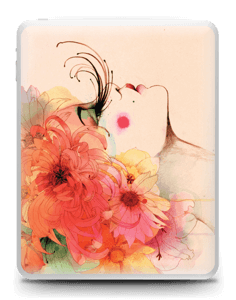 Femme & fleurs 2 Skin IPad 1