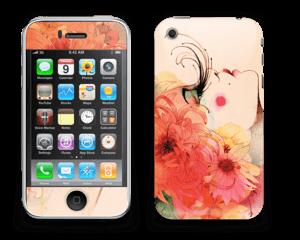 Girl in profile  Skin IPhone 3G/3GS