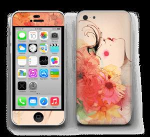Girl in profile  Skin IPhone 5c