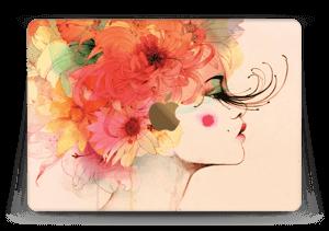 Girl in profile  Skin MacBook 12