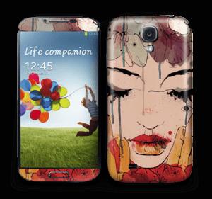 Femme & fleurs Skin Galaxy S4
