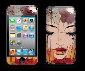 Femme & fleurs Skin IPod Touch 4th Gen