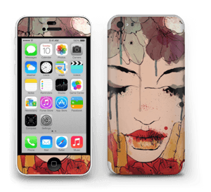 Femme & fleurs Skin IPhone 5c