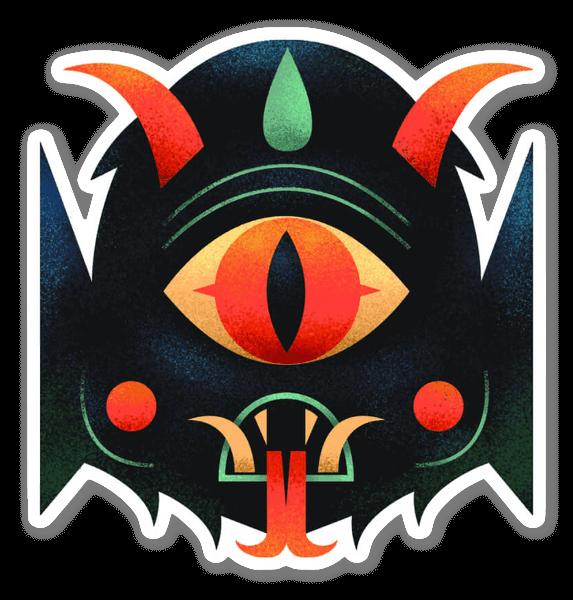 Cyclop Teufel sticker
