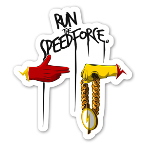 Run The Speedforce  sticker