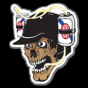 Beerhelmet sticker