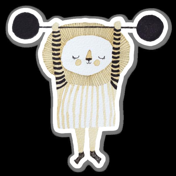 Lion Power  sticker