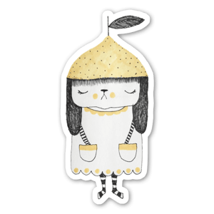 Petit Citron sticker