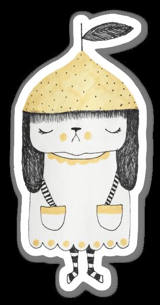 Petit Citron sticker
