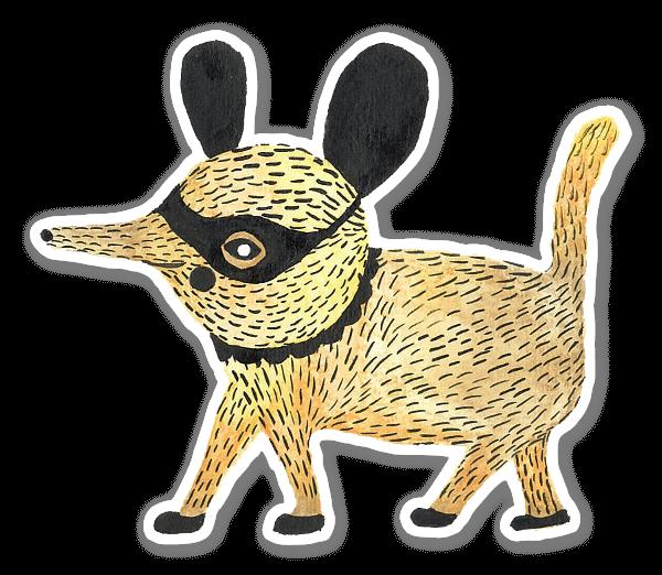 Yellow Fellow  sticker