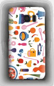 Keittiön antimet kuoret Galaxy S6