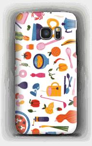 お料理 ケース Galaxy S7