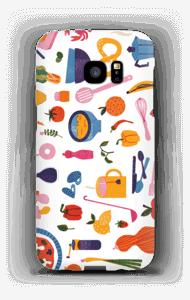 Keittiön antimet kuoret Galaxy S7 Edge
