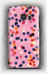 点々 ケース Galaxy S7
