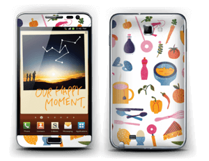 A table ! Skin Galaxy Note