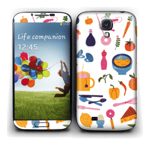 Hungry?  Skin Galaxy S4