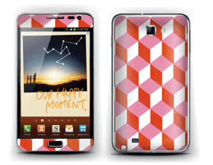 Cubes Skin Galaxy Note