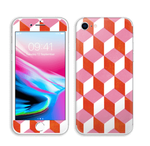 Cubes Skin IPhone 8