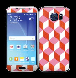 Cubes Skin Galaxy S6