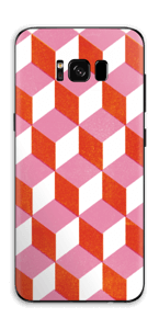 Cubes Skin Galaxy S8 Plus