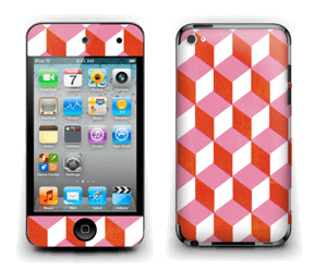 Cubes Skin IPod Touch 4th Gen