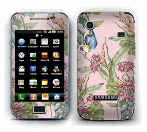 Parrot & flowers Skin Galaxy Ace