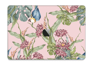 "Parrot & flowers Skin MacBook Pro 13"" 2016-"