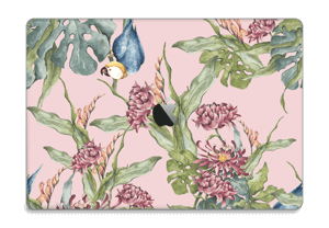 "Parrot & flowers Skin MacBook Pro 15"" 2016-"