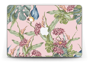 "Parrot & flowers Skin MacBook Pro Retina 13"" 2015"