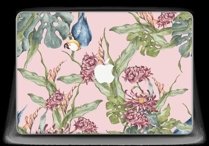 "Nature & Perroquet  Skin MacBook Pro Retina 13"" 2015"