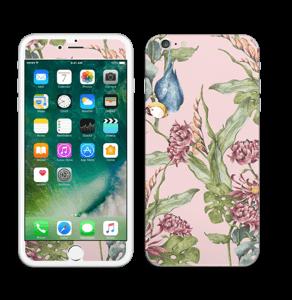 Natur og papegøye Skin IPhone 6 Plus