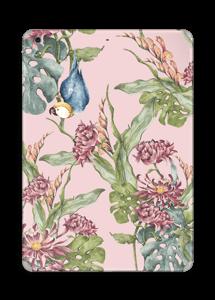 Nature & Perroquet  Skin IPad Air
