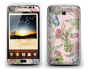 Parrot & flowers Skin Galaxy Note