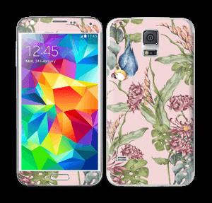 Natur og papegøye Skin Galaxy S5