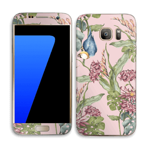 Nature & parrot Skin Galaxy S7