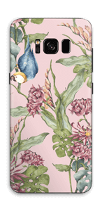 Parrot & flowers Skin Galaxy S8