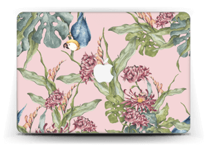 Parrot & flowers Skin MacBook Air 13""