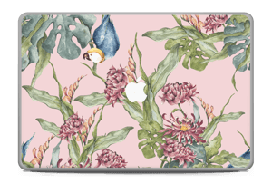 "Nature & Perroquet  Skin MacBook Pro 17"" -2015"