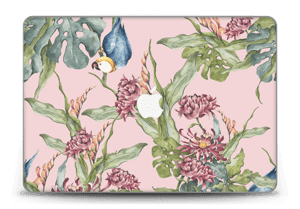 "Parrot & flowers Skin MacBook Pro Retina 15"" 2015"