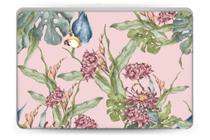 Parrot & flowers Skin Laptop 15.6