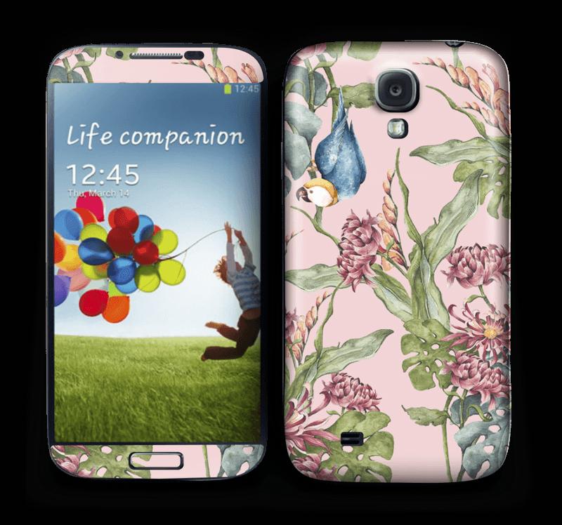 Natur og papegøye Skin Galaxy S4