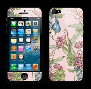 Nature & Perroquet  Skin IPhone 5