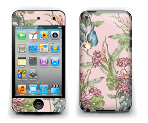 Natur og papegøye Skin IPod Touch 4th Gen