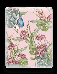 Nature & Perroquet  Skin IPad 4/3/2