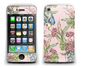 Nature & Perroquet  Skin IPhone 3G/3GS