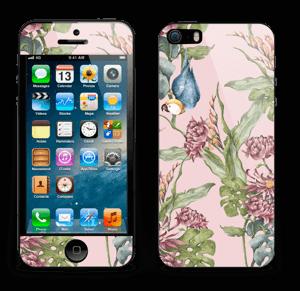 Natur og papegøye Skin IPhone 5s