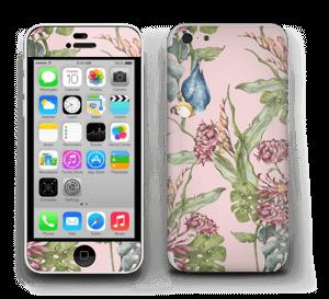 Natur & en papegoja  Skin IPhone 5c